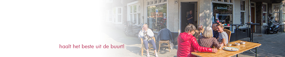 Banner buurtkamerborrel 2013 05 28
